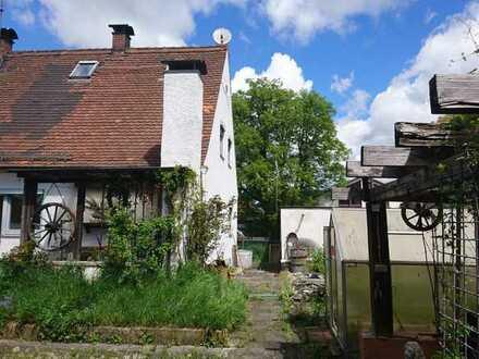 Doppelhaushälfte stark renovierungsbedürftig provisionsfrei, Aichach-Friedberg (Kreis)