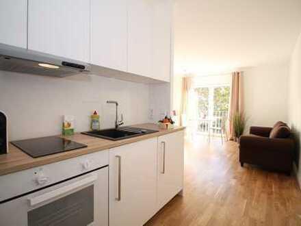 Modernes Apartment, möbliert, zentral gelegen, ruhig