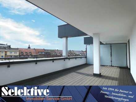 Traumhafte 3,5-Zimmer Penthousewohnung mit Aufzug im Herzen von Kamp-Lintfort!!