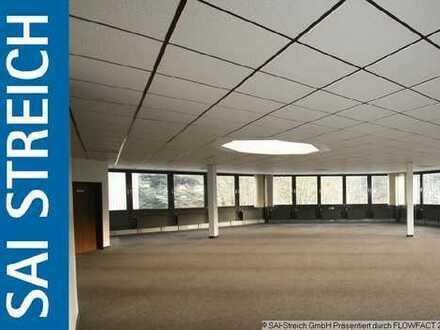 Büro- und Ausstellungsfläche mit 360° Verglasung!