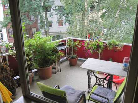 4-Zimmer Wohnung im Viertel, barrierefrei, wunderbare Süd-West Loggia !