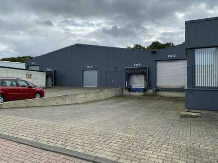 2400m² Lager mit 160m² Büro in ST-Borghorst zu vermieten.