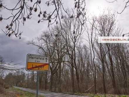 IMMOBERLIN: Grundstück in idyllischer Lage nahe Berlin