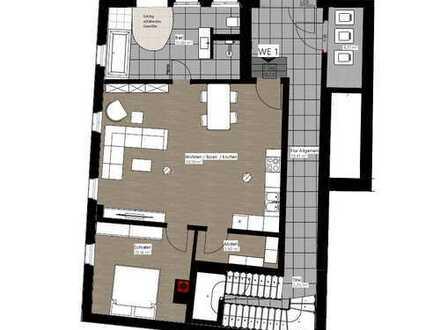 EG-Wohnung nach Kernsanierung im Stadtzentrum (Erstbezug)