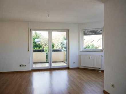 2-Raum-Wohnung mit Balkon ins Grüne!