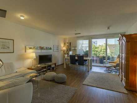 Moderne 3-Zimmer-Wohnung mit Balkon, Terrasse und Einzelgarage in stadtnaher Lage