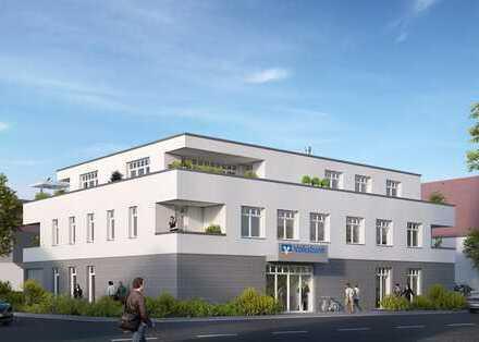 Neubau Penthaus mit Kühloption neben dem Rathaus gegenüber dem Gemeindepark
