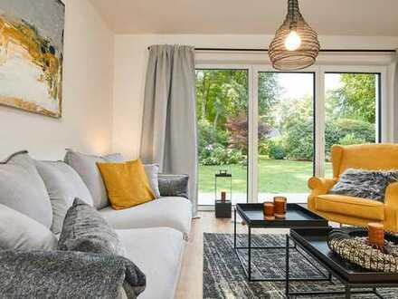 Großzügige Doppelhaushälfte mit hohem Standard, hochwertigen Materialien und schönem Garten