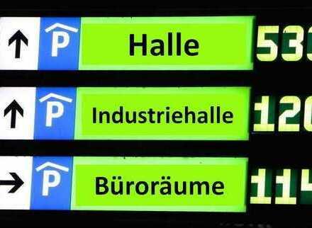 --- Gewerbe - Immobilie - Halle - Traumpreis ---  ! 10 Min. neben A 94 zw. HAAG und Neuötting !