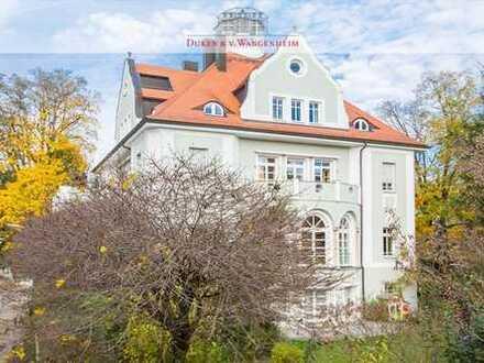 Hoch über der Prinz-Ludwigs-Höhe. Außergewöhnliche Wohnung mit Sternwarte.