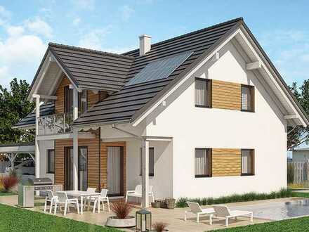 Klassisches Einfamilienhaus *Schlüsselfertig* KfW 40+ inkl. Grundstück, Keller, Balkon & Markenküche