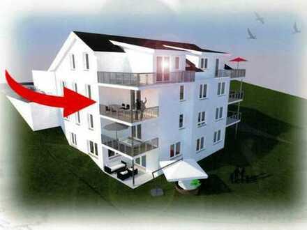 Erstbezug mit Balkon: attraktive 3,5-Zimmer-EG-Wohnung in Königsbach-Stein