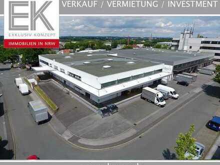 Lagerhalle mit Rampentor und Einfahrtstor in Dortmund-Dorstfeld