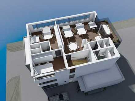 Attraktives Büro/ Kanzlei/ Gewerbefläche mit Dachterasse in repäsentativem Neubau in bester Lage