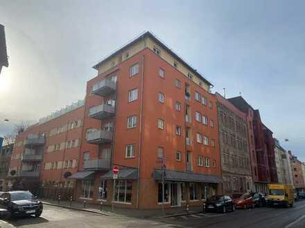 2-Zimmer-Wohnung mit Balkon, Aufzug und TG-Stellplatz, frei ab 01.09.2021