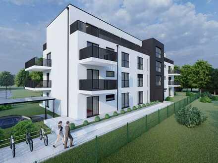 Moderne 2 Zimmer Wohnung mit Terrasse und Garten