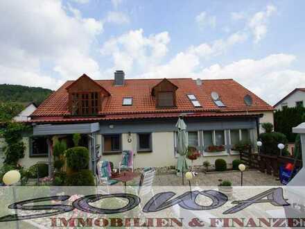 Liebhaber Erdgeschosswohnung mit großem Garten in idyllischer Lage am Waldrand - Altmühltal - Ein...