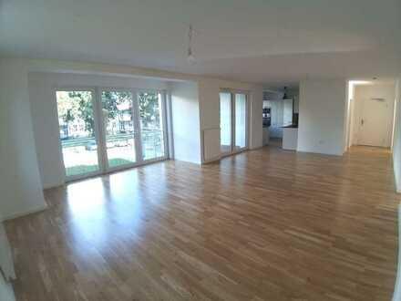 Traumwohnung in Traumlage! Top schicke 4-ZW-NB -2.OG- EBK- Aufzug und 10 m² BLK- HU-Lehrhöfer Park!