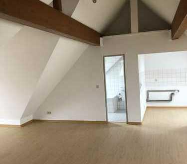 Vollständig renovierte 1-Zimmer-Dachgeschosswohnung mit Balkon in Lübben (Spreewald)