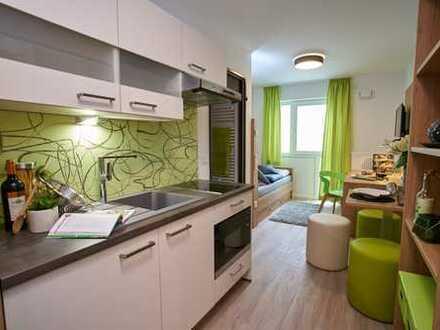 Für Kapitalanleger: 1,5-Zimmer-Appartement mit Balkon
