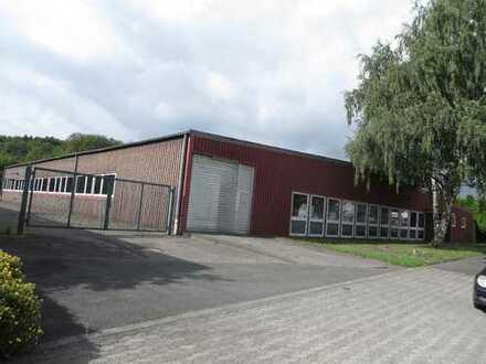I-Gebiet HA-Lennetal zu vermieten EBENERDIGE ca. 1.500m² Werkstatt-/Lagerhalle mit Büro + Freifläche