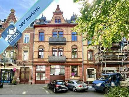 Exklusive 4-Zimmer-Altbauwohnung mit Balkon im Herzen von Wiesbaden