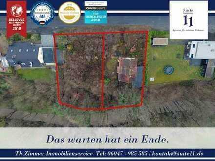 Verträumtes Grundstück mit Vorstadtflair in Schlossparknähe zu verkaufen.