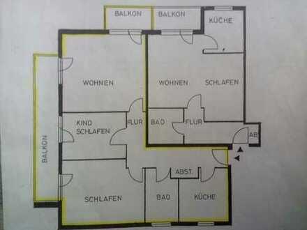 Modernisierte 3-Zimmer-Wohnung mit Balkon und EBK in Aschaffenburg (Kreis)