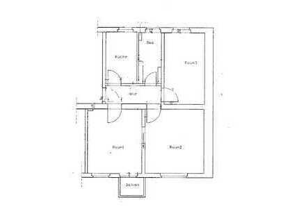 Schöne 3-Zimmer Wohnung - 75m², mit Balkon