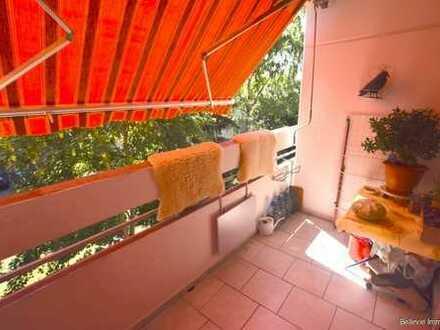 Gut geschnittene 2-Zimmer-Wohnung mit Balkon nahe Mainufer - Ideal als Kapitalanlage