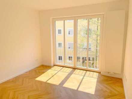Glockenbachviertel Isarnähe: Neu sanierte, ruhige 2-Zimmer-Wohnung zum Hof - Erstbezug