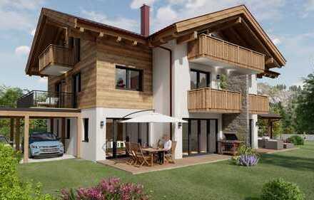 Direkt vom Bauträger**Wohnen im Stil einer DHH in Bestlage von Garmisch