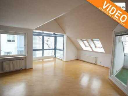 Traumhafte 3,5 Zi.-Maisonette-Dachwohnung mit herrlichem Ausblick über Heumaden