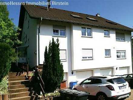 Ruhige 3 Zimmerwohnung mit Terrasse und Garage, Hellstein.