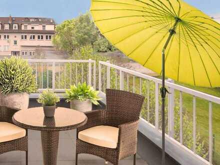 Frankfurt Bergen-Enkheim: Leben & Wohnen • Herrliche 3 Zi. Maisonette • Balkon • gepflegte Wohnlage