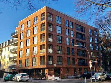 Erstbezug mit hochwertiger EBK und Loggia: attraktive moderne 2-Zimmer-Wohnung in Hamm-Nord, Hamburg