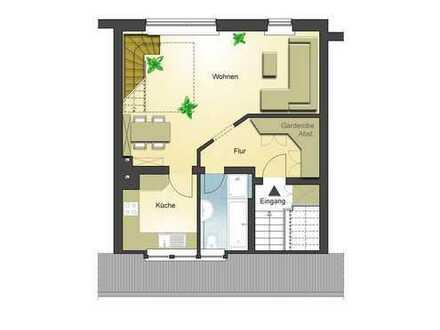 Exklusive, sanierte 2-Zimmer-Maisonette-Wohnung mit EBK in Meerbusch Büderich