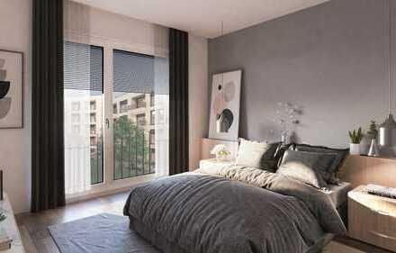 Raffinierte 2-Zimmerwohnung mit Balkon
