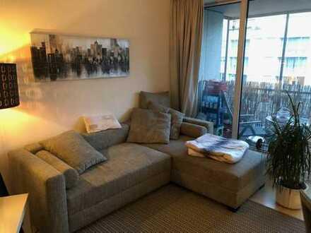 Exklusive, geräumige 1-Zimmer-Wohnung mit Balkon und Einbauküche in Dortmund