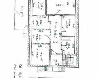 Gepflegte 4-Zimmer-Dachgeschosswohnung mit Balkon und EBK in Setzingen