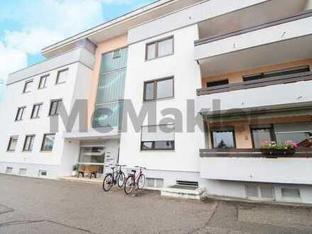 Gute Kapitalanlage nahe Memmingen: 3-Zi.-ETW mit Balkon in MFH mit Schwimmbad, Sauna und Fitnessraum