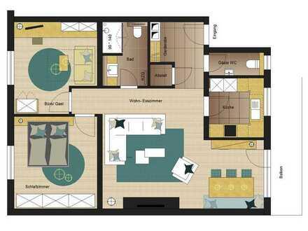 Wohnung in Obertshausen zu vermieten