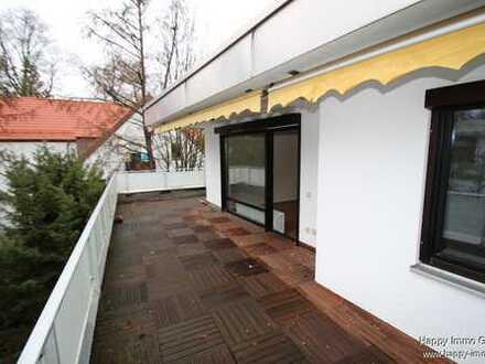 2-Zi-Wohnung mit ca. 41 m² großer Dachterrrasse - bezugsfrei