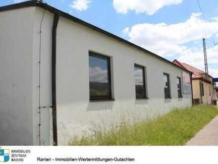 Besondere Location-Gewerbehalle mit vielseitigen Nutzungsmöglichkeiten in gut frequentierter Lage