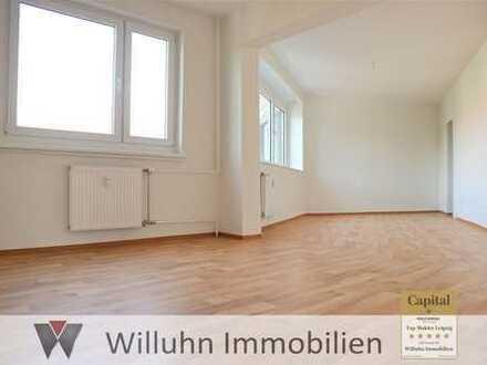 Große Zweiraumwohnung, kleiner Preis, Riesen-Wohnzimmer