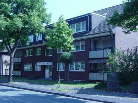 Schöne Erdgeschosswohnung mit Loggia in Duisburg-Friemersheim