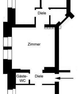 Erstbezug nach Sanierung! Büro-/Praxisfläche mit barrierefreiem Zugang in Coburg-Zentrum