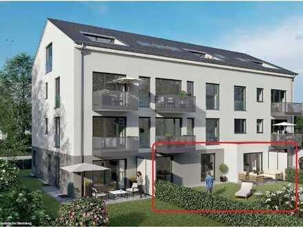 Neubau! Erstbezug! Attraktive Wohnung mit sonnigem Gartenanteil....!