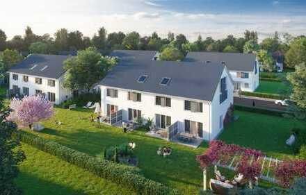 Sonniges Reihenmittelhaus inkl. Grundstück, Terrasse & Gartenhaus in Fellbach