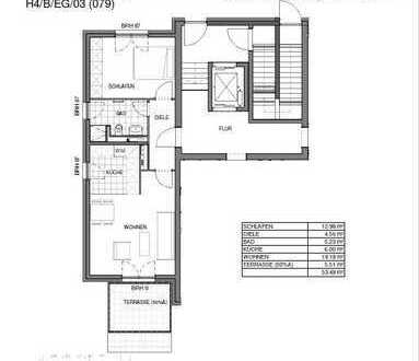 Erstbezug: stilvolle 2-Zimmer-Erdgeschosswohnung mit Balkon in Teltow